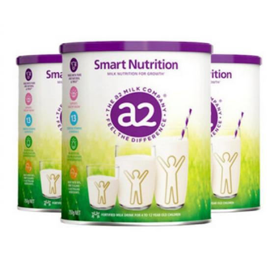 2A2白金小安素儿童成长营养奶粉750g/罐(4-12岁)年龄段 【3罐包邮】 22年2月到期