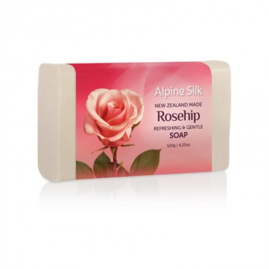 Alpine Silk  艾贝斯 有机玫瑰果滋润/美白香皂 120g 【孕妇可用】
