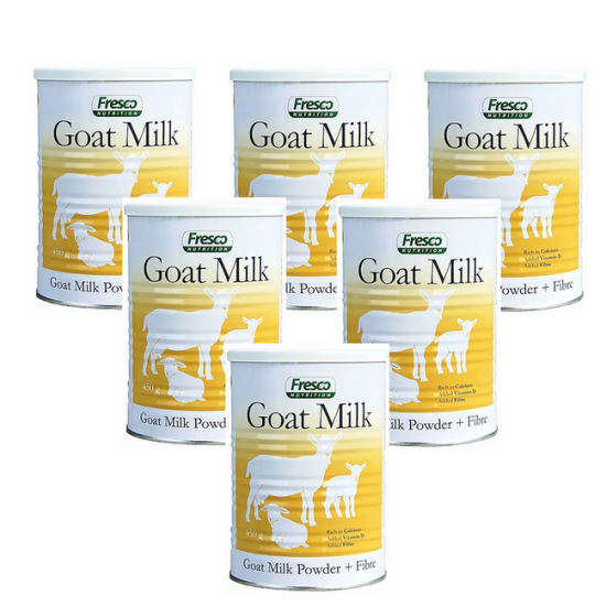 Fresco 芙思柯 山羊奶粉 成人奶粉/3岁以上儿童到老人全家可以喝 450G/罐(新包装 )【日期2022/05】