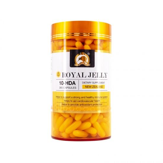 Gold Kiwi 金奇维蜂王浆胶囊365粒 增强免疫力(遇国内天气炎热,胶囊会有融化现象,介意者慎拍)