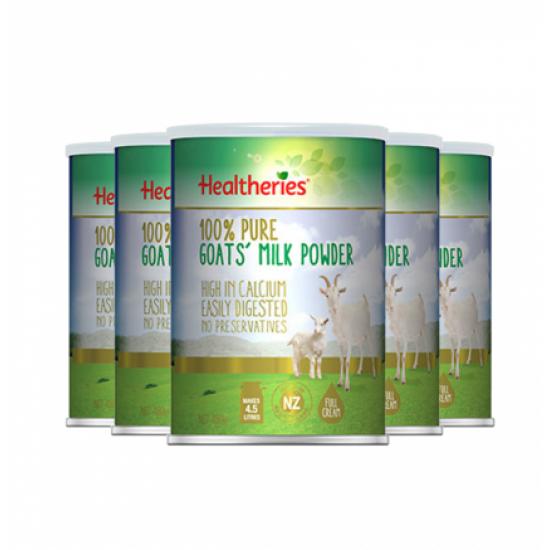Healtheries 贺寿利成人羊奶粉6罐 450克/罐