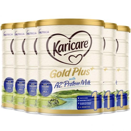 Karicare 可瑞康金装A2 一段 900g 六罐 (升级版)2022年7月