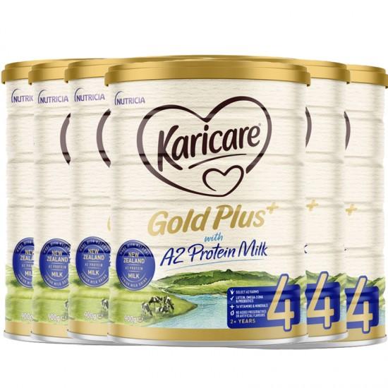 Karicare 可瑞康金装A2 四段 900g 六罐 (升级版)2022年10月