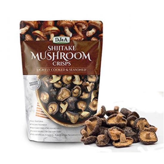 DJ&A 蘑菇干小零食 150g  超好吃 纯天然小零食 无添加纯天然