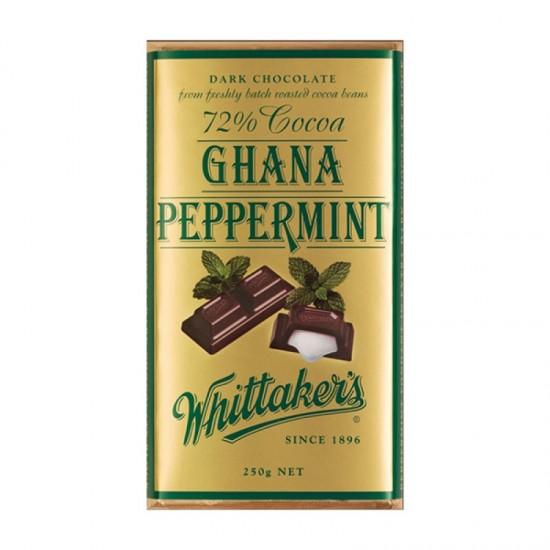Whittaker's 加纳薄荷巧克力 72%可可 250g